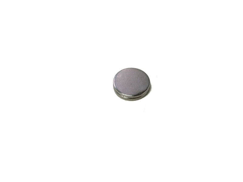 ND Rare Earth Disk Magnet 2/pk