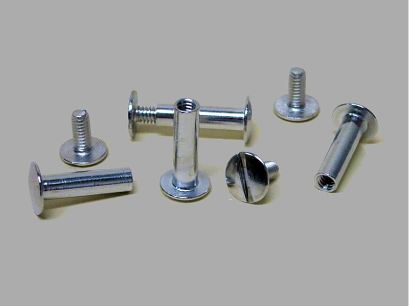 Screw Post - Aluminum - 10/pk