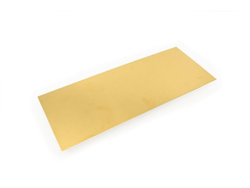 "Brass Sheets - 4""x10"""