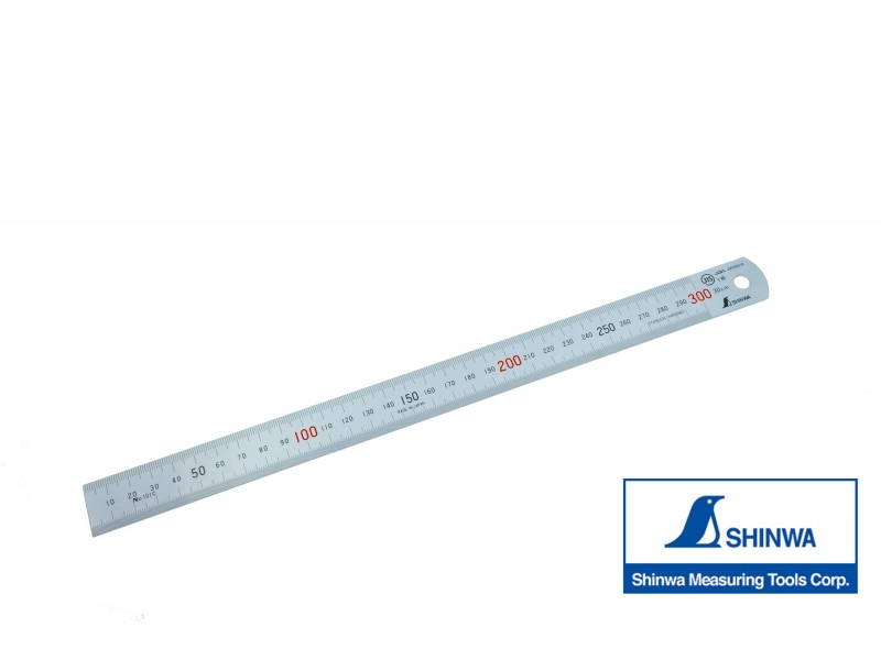 Shinwa Stainless Steel Ruler