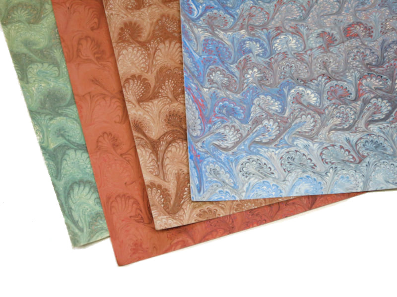 Marbled Paper - Handcrafted by Robert Wu