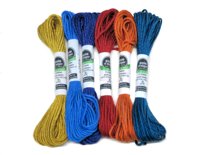Soie d' Alger Silk Thread - 5m skein