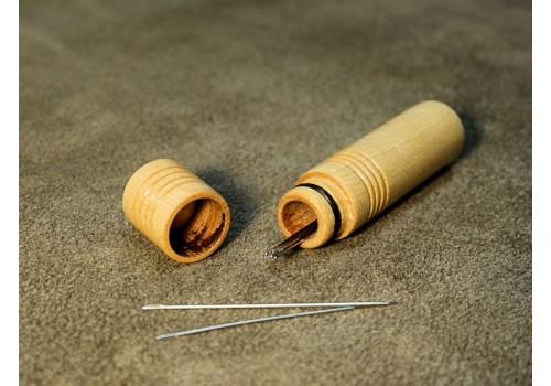 Wood Needle Case
