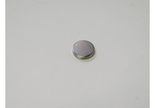 10mm x 1mm ND Rare Earth Disk Magnet 2/pk