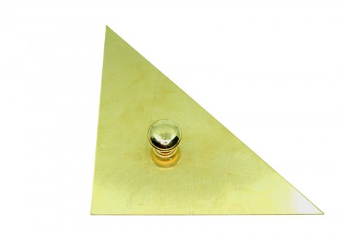 Brass Triangle - 5""