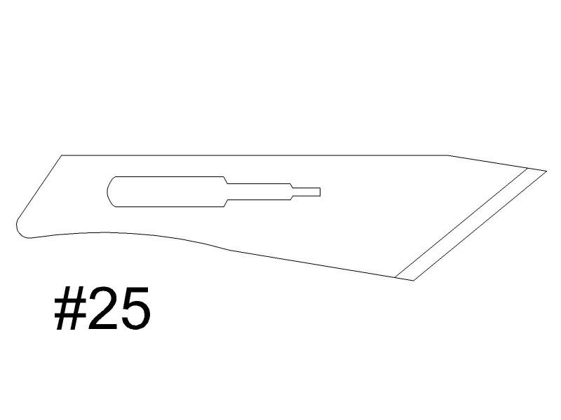 Scalpel Blades - Bulk - 100/pack